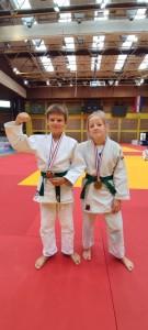 Paula Findrik (-48 kg) i Noa Šprljan (-42 kg)