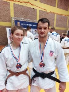 Marta Voraček (-63 kg) i Bruno Capan (-81 kg)